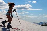 Посетители пляжа смогут, искупавшись, покататься на лыжах. // onthesnow.com