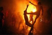 Праздник огня - это невероятные огненные шоу. // agenteab.blogspot.com