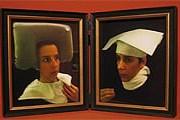 """Проект называется """"Туалетные автопортреты в голландском стиле"""". // cclarkgallery.com"""