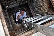 Вход в подземный бункер, найденный в отеле Sofitel Legend Metropole // vietnamnet.vn