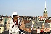 В Стокгольме появилась экскурсия по крышам. // upplevmer.se