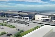 Новый терминал аэропорта Якутска - слева // sakha.gov.ru
