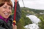 Самый длинный спуск по канату в Англии – 600 метров. // telegraph.co.uk