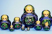 В музее представлены разнообразные матрёшки. // magicstore.ru