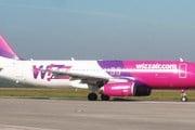 Самолет авиакомпании Wizzair