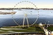 Так будет выглядеть новое колесо обозрения. // AFP