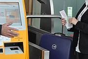 Самостоятельная регистрация багажа // Lufthansa