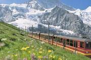 Поезд региона Юнгфрау // jungfraubahn.ch