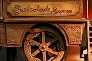 Поезд полностью изготовлен из шоколада. // PAP/EPA