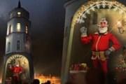 """Гостей поздравит """"цифровой Дед Мороз"""". // vilnius-tourism.lt"""