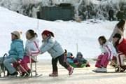 Гостей ждут различные зимние забавы. // visitkorea.or.kr