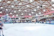 Особенность парка – каток олимпийских размеров. // facebook.com/iceparkeilat