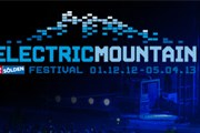 Electric Mountain Festival начался в декабре. // soelden.com