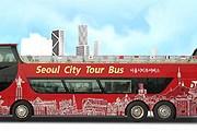 Двухэтажный автобус Seoul City Tour // seoultrolley.co.kr