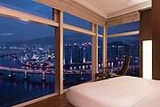 Из окон номеров Park Hyatt Busan открывается живописный вид. // hyatt.com