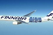 Новая ливрея Airbus 330 от Marimekko // Finnair