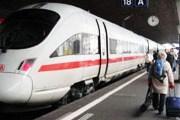 Немецкий скоростной поезд ICE на вокзале Цюриха // Travel.ru