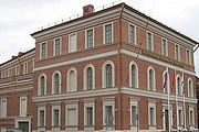 Новое здание музея на площади Труда // wikimedia.org