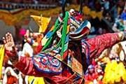 Традиционные фестивали привлекают туристов в Бутан. // Josette King