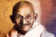 Махатма Ганди // worldhdwallpaper.com