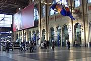 Инфоцентр находится на главном вокзале Цюриха. // art-and-imagination.ch