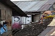 На Филиппинах объявлен режим национального бедствия. // EPA / Francis R. Malasig