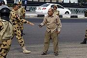 На улицах Каира. // Mohammed Abdel Moneim / AFP