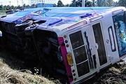 Чаще всего аварии случаются с туристическими автобусами. // kyivpost.com