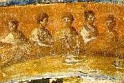 Фрагмент фрески из катакомб Присциллы. // wikimedia.org