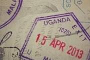 Пограничный штамп Уганды. // guide2uganda.com