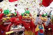 Самый красочный праздник Гонконга - Новый год. // hugotalk.com