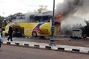 На границе Египта и Израиля взорван туристический автобус. // Reuters