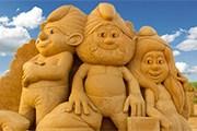 На курорте появятся сказочные персонажи. // sandfestburgas.com