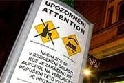 В будущем на щитах поместят полезную практическую информацию. // ceskatelevize.cz