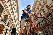 На велосипеде удобно передвигаться по городу. // cartinafinland.fi