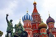 Многие туристы отметили 9 мая в Москве. // shutterstock / Alexandra Land