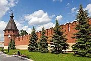 На Тулу можно посмотреть с высоты крепостных стен. // Wikipedia