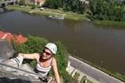 В центре Дечина можно залезть на скалу. // ilovecz.ru