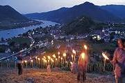 На берегах Дуная зажгутся сотни огней. // lower-austria.info