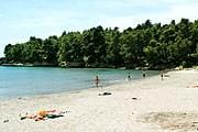 Пляж Plavi Horizonti // balkaninbrief.blogspot.com