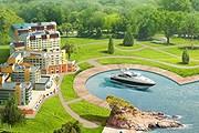 Гостиница расположена на берегу Московского моря. // radisson.ru