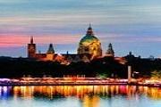 Во время фестиваля озеро будет красиво подсвечено. // hannover.de