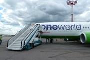 "Самолет ""Сибири"" в раскраске альянса oneworld // Travel.ru"