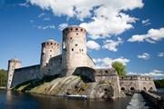 Замок Олавинлинна начал строиться в 1475 году.