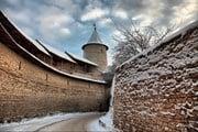 Зимний Псков популярен у туристов. // Pelevina Ksinia, shutterstock.com