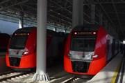 Электрички на станции Роза Хутор // Travel.ru
