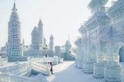 Ледовый фестиваль в Харбине - один из крупнейших в мире.