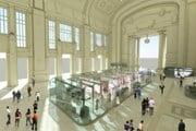 Проект обновленной Galleria delle carrozze