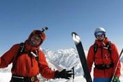 Район Архыза - живописное место с хорошим снежным покровом.  // heliskicaucasus.ru
