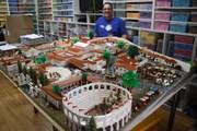 """Самую крупную модель Помпей из """"Лего"""" можно увидеть в Сиднее. // Nicholson Museum"""